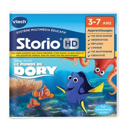 Vtech Jeu pour console de jeux Storio : Le monde de Dory. Jeu pour console de jeux Storio : Le monde de Dory