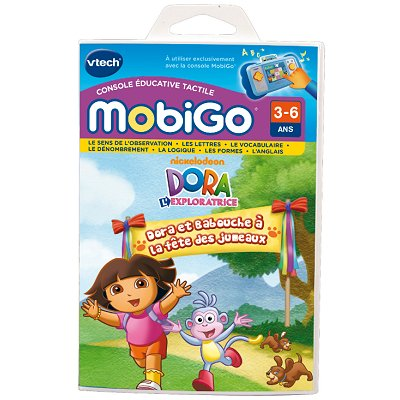 Vtech Jeu pour console de jeux Mobigo : Dora l'Exploratrice