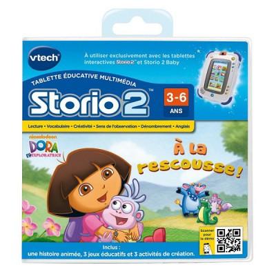 Vtech Jeu pour console de jeux Storio 2 : Dora l'Exploratrice