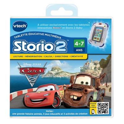 Vtech Jeu pour console de jeux Storio 2 : Cars 2