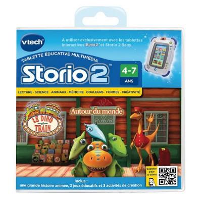 Vtech Jeu pour console de jeux Storio 2 : Dino Train