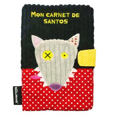 Déglingos Protège carnet de santé déglingos : bigbos le loup
