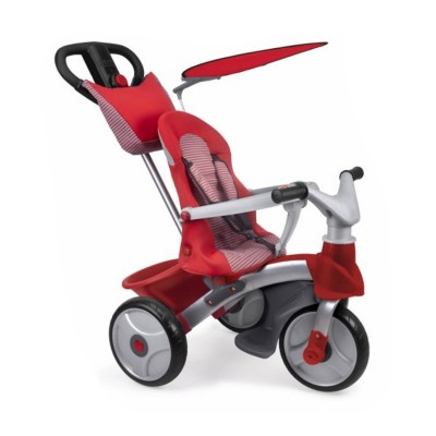Feber Tricycle baby trike easy evolution : rouge