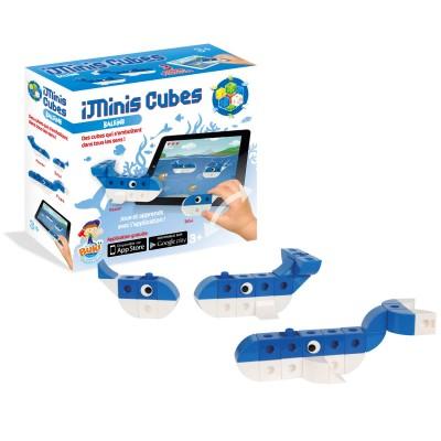 Buki France Jeu de construction iMinis Cubes : Baleine