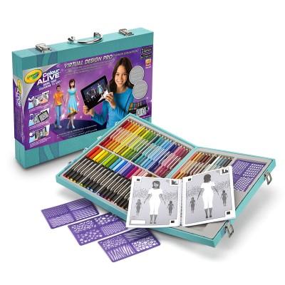Crayola Mallette de dessins : colour alive fashion collection