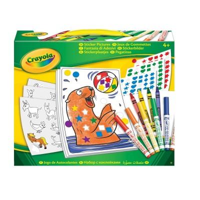 Crayola Jeux de gommettes Refresh. Jeux de gommettes Refresh