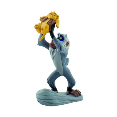 Bullyland Figurine Le roi lion : Rafiki et Simba