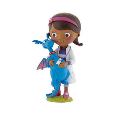 Bullyland Figurine Docteur la peluche : Docteur McStuffins et Stuffy