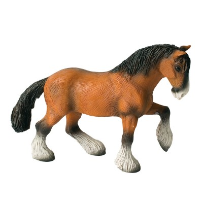 Bullyland Figurine Cheval Shire entier