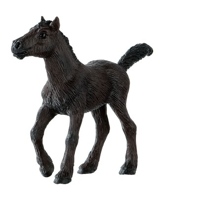 Bullyland Figurine cheval : poulain frison