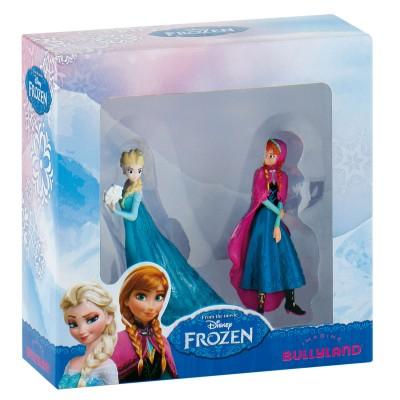 Bullyland Coffret 2 mini figurines la reine des neiges (frozen) : anna et elsa
