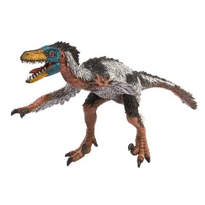 Bullyland Figurine dinosaure : museum line : velociraptor