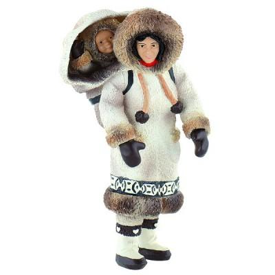 Bullyland Figurine Inuit : Femme inuite
