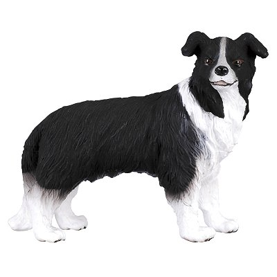 Figurines Collecta chien border collie