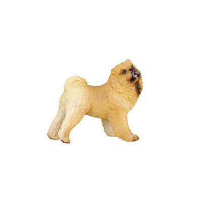 Figurines Collecta chien chow chow
