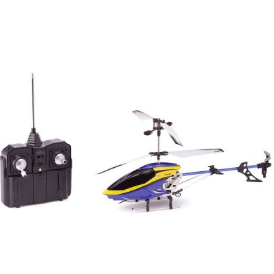Silverlit Hélicoptère radiocommandé sky eagle : bleu