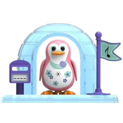 Silverlit Digipingouin rose pâle et son igloo