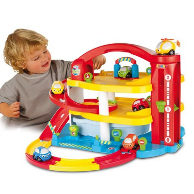 Garage mon grand garage vroom planet et dvd smoby magasin de jouets pour enfants - Grand garage voiture jouet ...