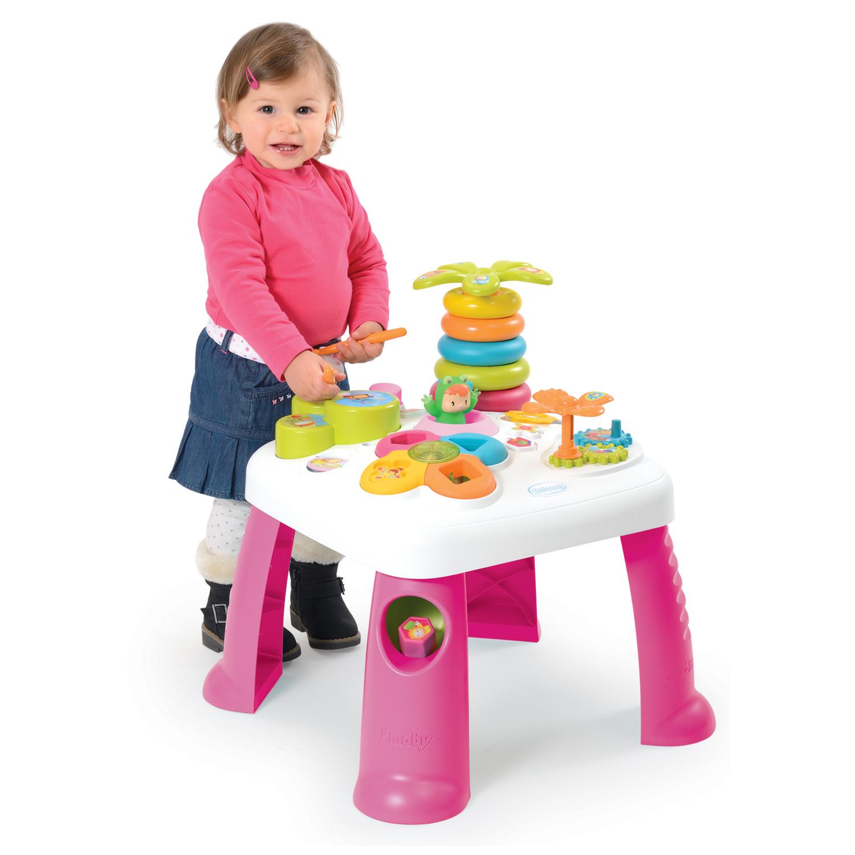 table d 39 activit s cotoons rose ebay. Black Bedroom Furniture Sets. Home Design Ideas