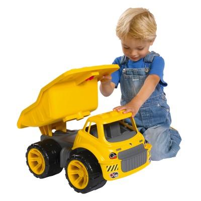 Porteur bix maxi camion benne smoby magasin de jouets for Jouet exterieur 1 an