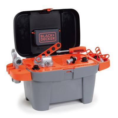 Smoby Boîte à outils Black et Decker : 18 pièces