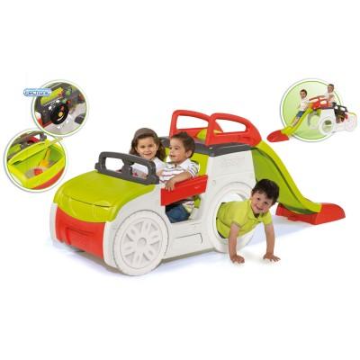 Smoby Aire de jeux adventure car