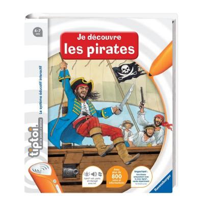 Ravensburger Livre électronique Tiptoi : Je découvre les pirates