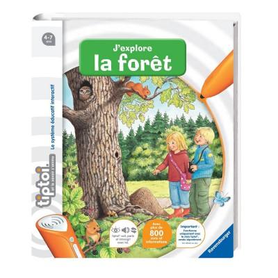 Ravensburger Livre électronique Tiptoi : J'explore la forêt