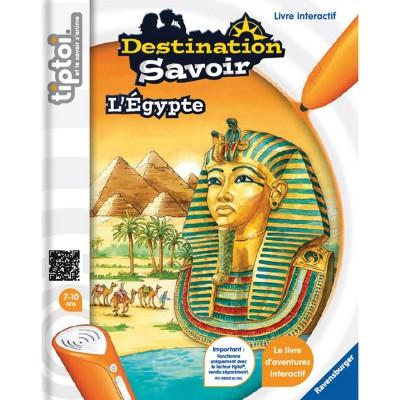 Ravensburger Livre électronique Tiptoi Destination Savoir : L'Egypte