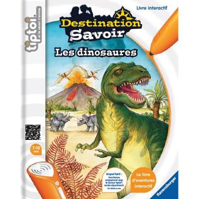Ravensburger Livre électronique Tiptoi Destination Savoir : Les dinosaures