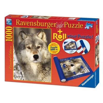 Ravensburger Puzzle 1000 Pi Ces Loup Tapis De Puzzle Rue Des Puzzles