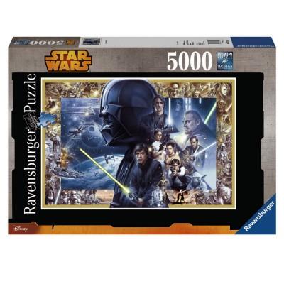 Ravensburger Puzzle 5000 pièces XXL : Saga Star Wars