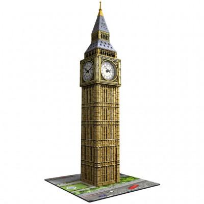Ravensburger Puzzle 3D 216 pièces : Big Ben avec montre horloge