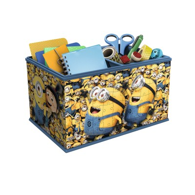 Ravensburger Puzzle 3d 216 pièces : boîte de rangement - les minions