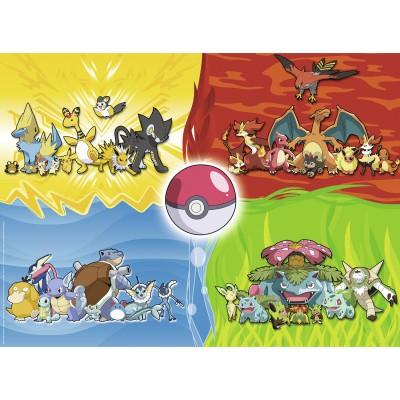 Ravensburger Puzzles 150 pièces xxl : les différents types de pokémon