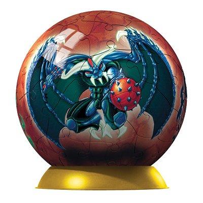 Ravensburger Puzzle ball 60 pièces - gormiti : obscurio et grandalbero