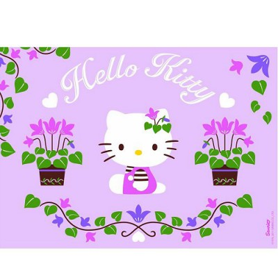 Ravensburger Puzzle 100 pièces - hello kitty jardine