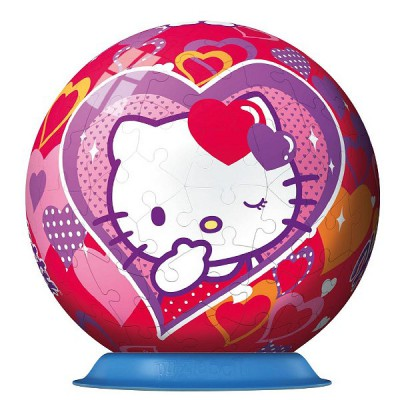 Ravensburger Puzzle ball 108 pièces - hello kitty