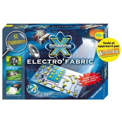 Ravensburger Kit d'expériences Maxi Science X : Electro'Fabric
