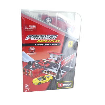 Bburago Piste ferrari race & play avec modèle réduit 1/43 : ferrari n°3