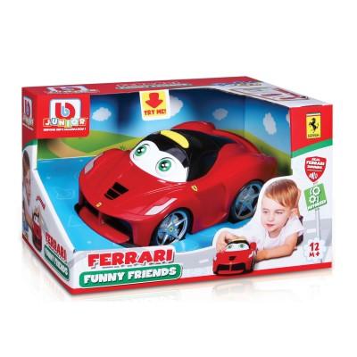 Bburago Voiture motorisée junior funny friends : ferrari