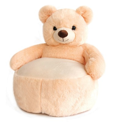 Histoire D'ours pouf : ours champagne