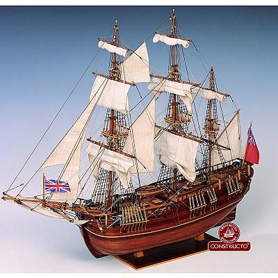 Constructo Maquette bateau en bois : Endeavour