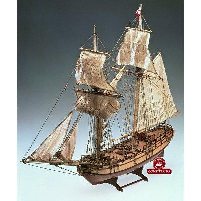 maquette bateau bois halifax