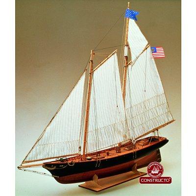 constructo maquette bateau en bois america rue des maquettes. Black Bedroom Furniture Sets. Home Design Ideas