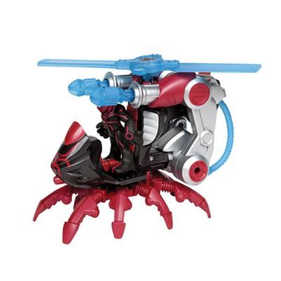 Playskool Figurine spiderman et véhicule : hélico arachnide