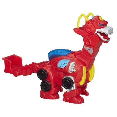Playskool Figurine transformers rescue dinobot : heatwave deluxe