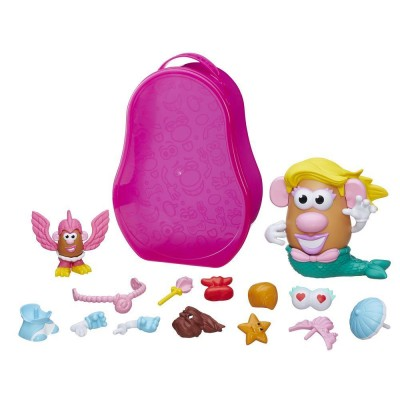 Playskool Mallette de figurines madame patate : sirène