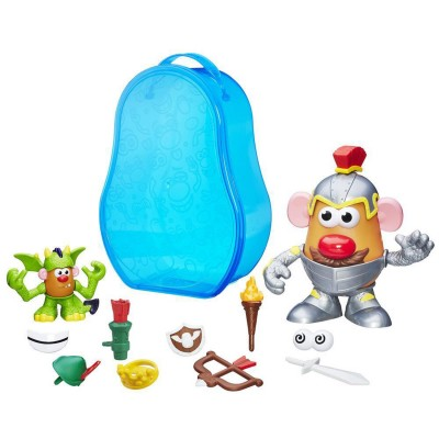 Playskool Mallette de figurines monsieur patate : chevalier