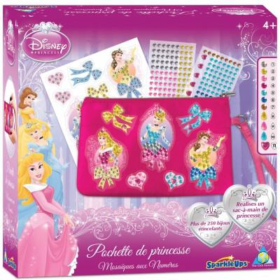 Orb Factory autocollants sparkleups : pochette princesses disney